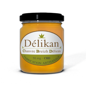 Delikan - Miel d'acacias au CBD - 50 mg